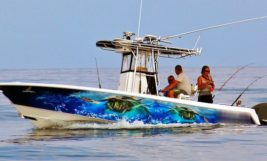 Enjoy Fishing In Andergrove, Queensland On Center Console