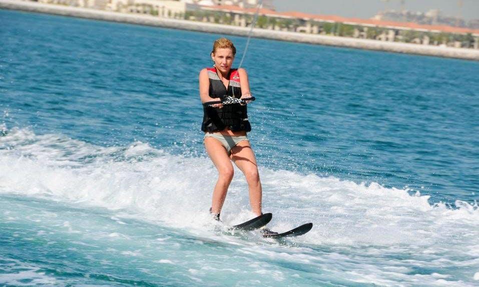 Enjoy Waterskiing in Ras Al-Khaimah, United Arab Emirates