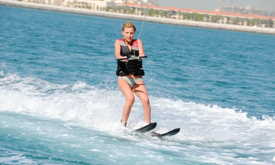 Enjoy Waterskiing In Ras Al-khaimah, United Arab Emirates