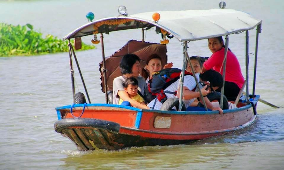 Guided River Tour Around Ayutthaya Island, Thailand
