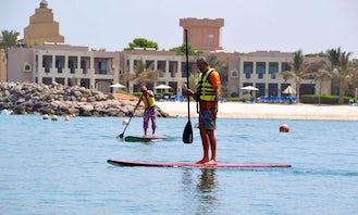 Rent a Stand Up Paddleboard in Ras Al-Khaimah, United Arab Emirates
