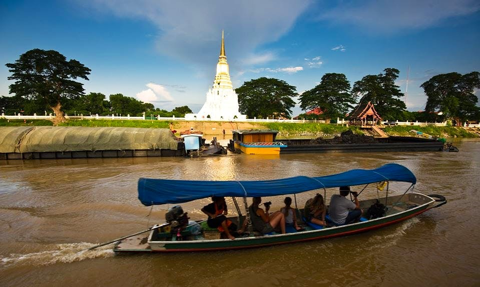 See Elephants & Temples on our River Cruise around Ayutthaya Island