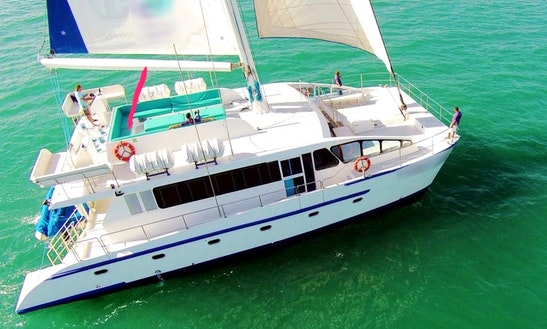 Charter A Cruising Catamaran In Dubai, United Arab Emirates
