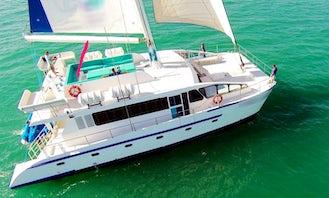 Charter a Cruising Catamaran in Dubai, United Arab Emirates