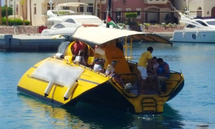 Enjoy Submarine Tours in Aqaba, Jordan