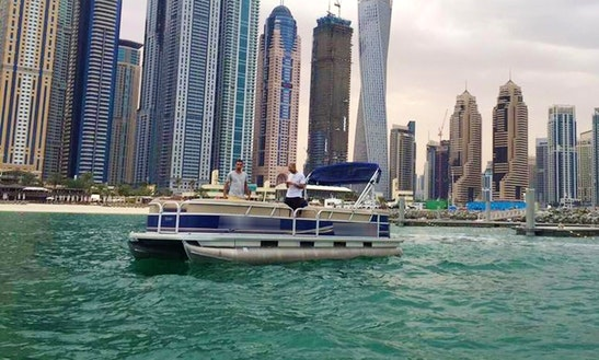 Rent Shark 2 Pontoon In Dubai, United Arab Emirates