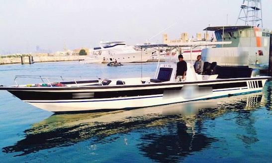 Enjoy Fishing In Dubai, United Arab Emirates On 38' Center Console