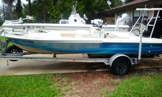 18' Bass Boat Charter In Port Orange, Florida