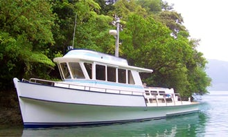 "47' Passenger Boat ""TOROA"" Cruising & Fishing & Diving in Nopera, New Zealand"