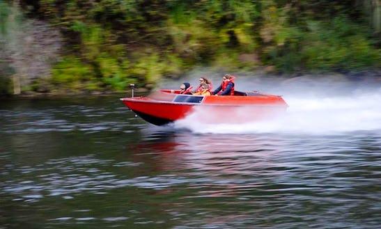 Jet Boat Tours In Cambridge, New Zealand