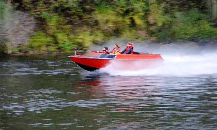 Jet Boat Tours in Cambridge, New Zealand