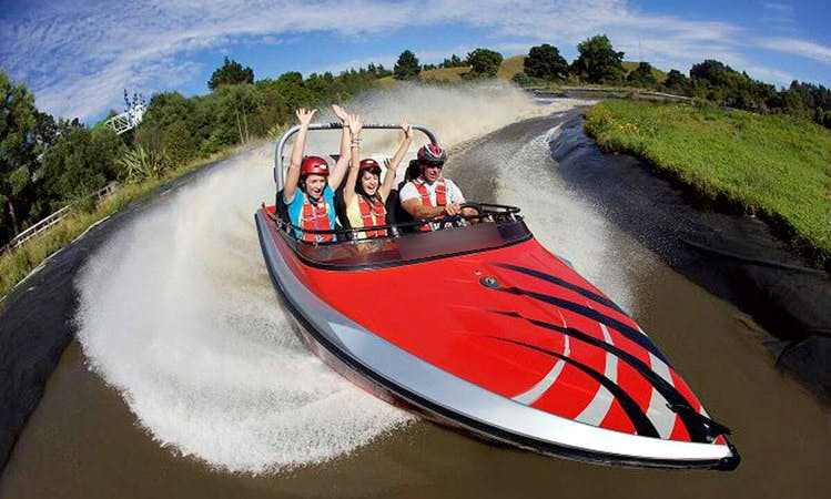 Jet Boat Tours in Ngongotaha Valley, New Zealand