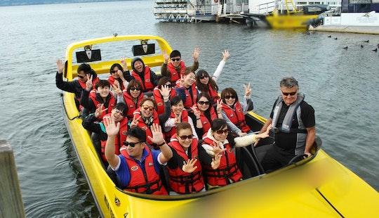 Jet Boat Tours In Rotorua, New Zealand