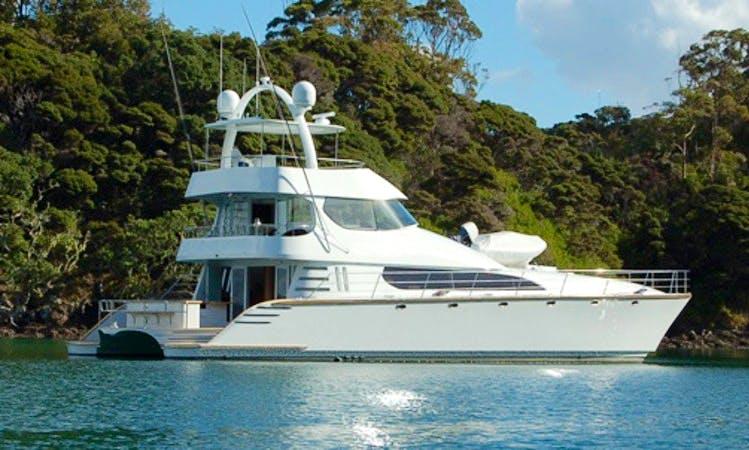 "Enjoy 75' ""Bucket List"" Yacht Charter in Opua Northland"