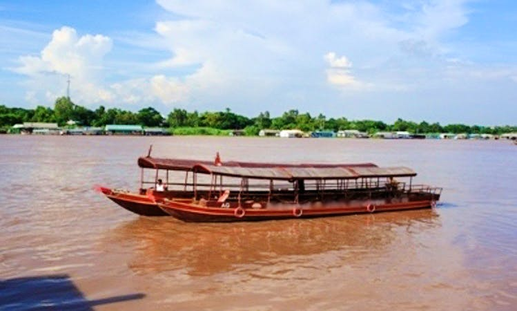 Enjoy Cruising in Chau Doc or Can Tho in Vietnam