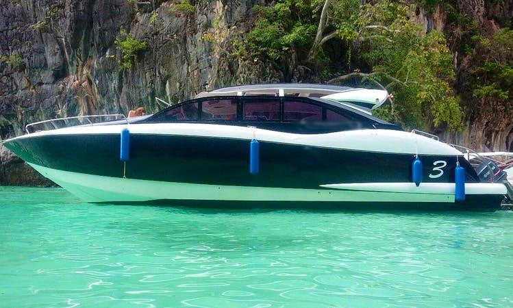 Speed Boat Semi Private Tours in Koh Phi Phi, James Bond & Hong Islands, Krabi