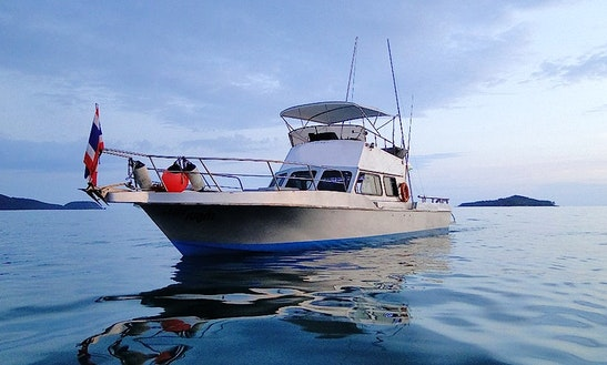 Fishing Charter On Racha Islands, Phuket, Thailand