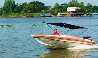 Enjoy Cruising in Mekong rivers in Chau Doc or south of Viet Nam
