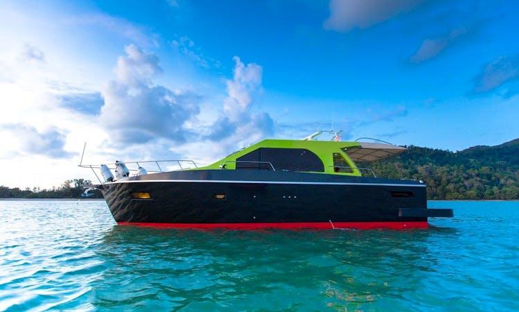Charter 42' Motor Yacht in Phuket, Thailand
