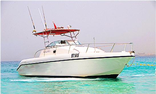 Enjoy Fishing In Ras Al-khaimah, United Arab Emirates On Cuddy Cabin