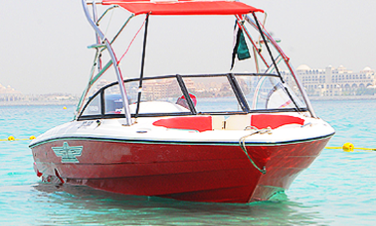 Boat Cruise Around The Arabian Gulf Aboard A Stunning Red Bowrider