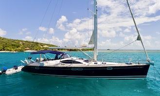 Jeanneau 54DS Sun Odyssey Rental in British Virgin Islands