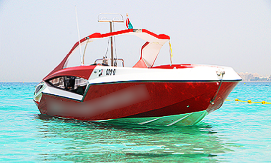 Fast And Gorgeous Bowrider For 11 People For Rent In Ras Al-khaimah, United Arab Emirates