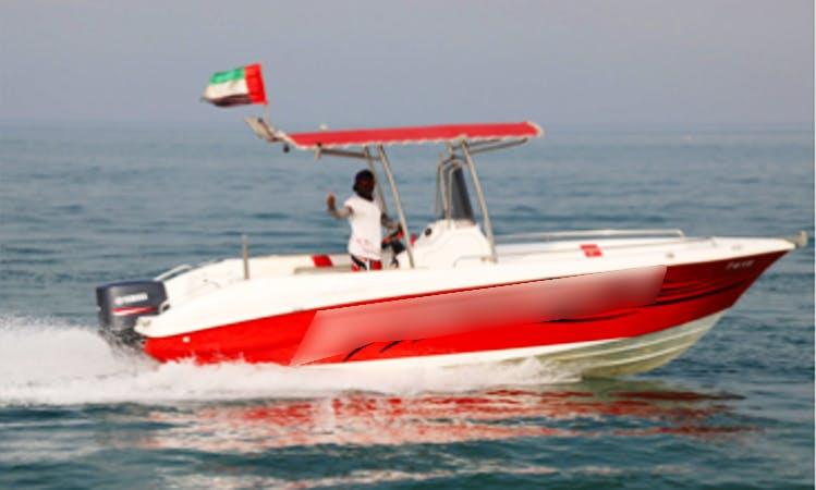 Charter a Center Console in Ras Al-Khaimah, United Arab Emirates