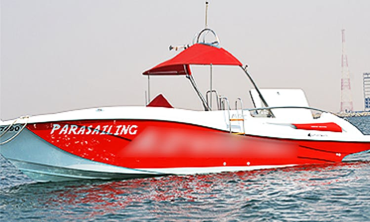 Rent a fast 2014 Bowrider for 11 People in Ras Al-Khaimah, United Arab Emirates