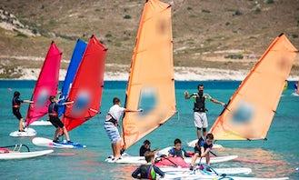 Windsurfing Lessons in Alaçatı Belediyesi