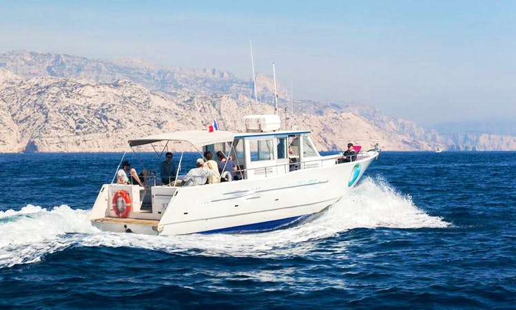 "37' ""Larimar"" Wildlife Tours in Marseille, France"