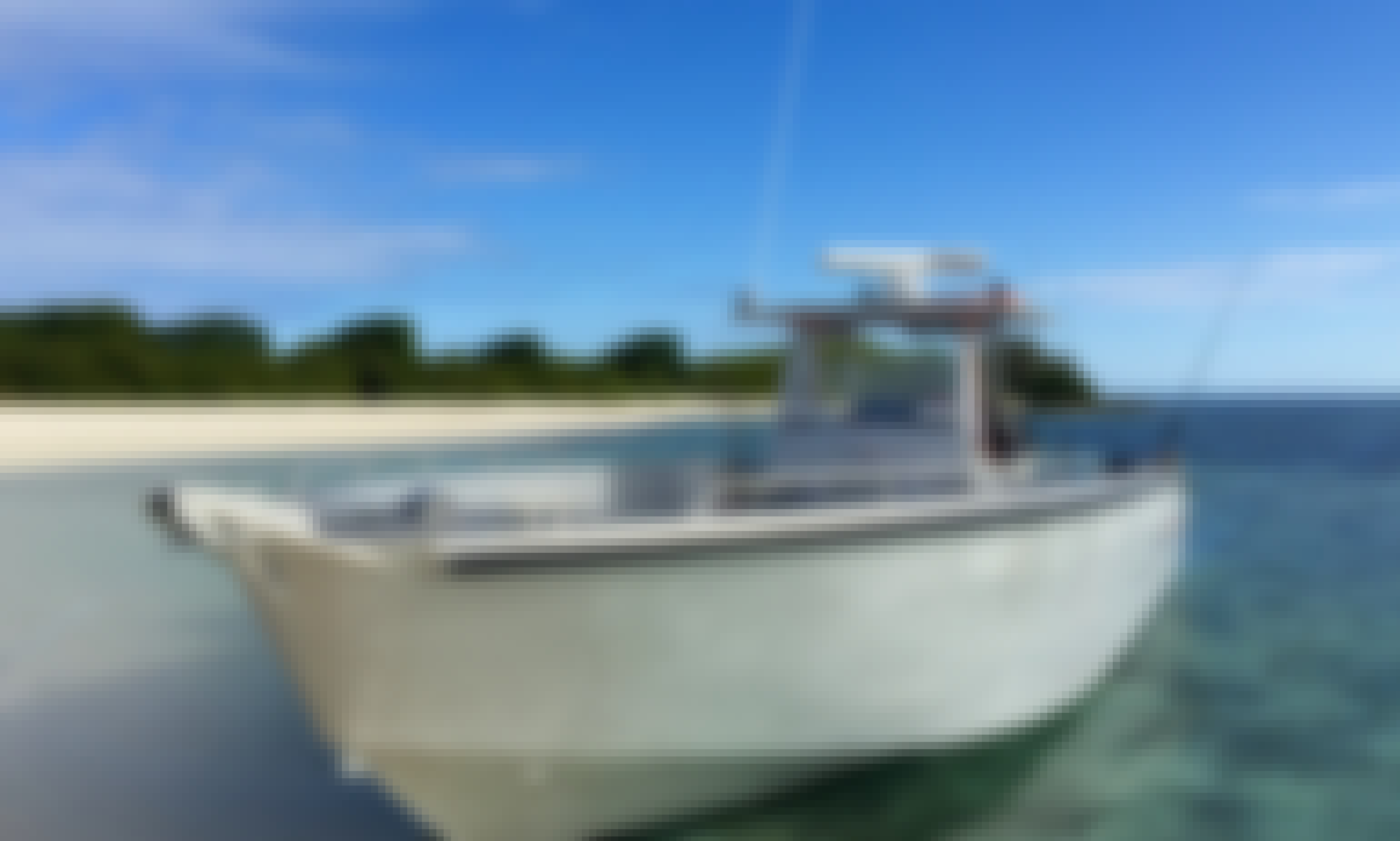 Center Console fishing charter in Nouméa, New Calendonia