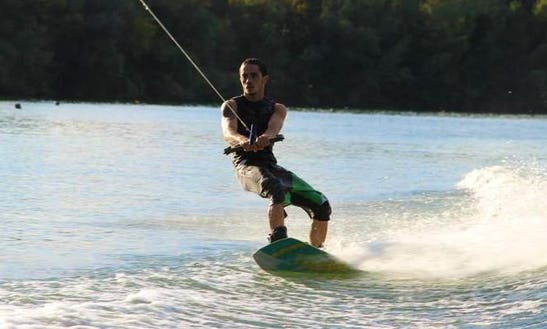 Enjoy Wakeboarding In Muharraq Governorate, Bahrain