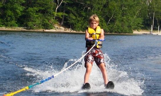 Enjoy Waterskiing In Tanjung Benoa
