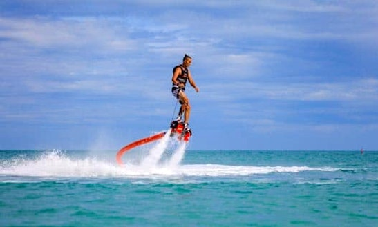 Enjoy Flyboarding In Muang Pattaya, Thailand