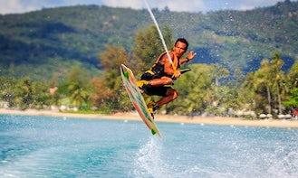 Jump the Wake Like a Pro in Ko Samui, Thailand