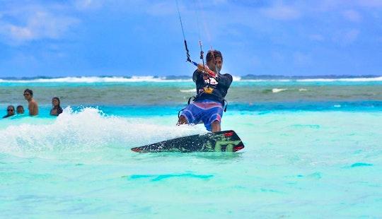 Enjoy Kitesurfing Lessons In Maafushi, Maldives