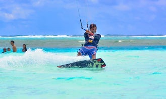 Amazing and Fun Kitesurfing Lessons in Maafushi, Maldives
