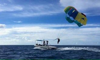 15-Minutes of Exciting Parasailing Adventure in Maafushi, Maldives