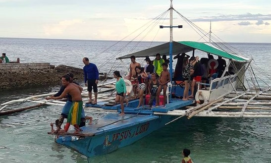 Tour In Style On A Traditional Boat Charter In Oslob, Philippines