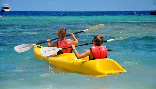 Rent A Double Kayak In Maafushi, Maldives