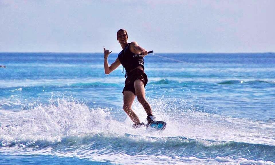 Enjoy Wakeboarding in Maafushi, Maldives