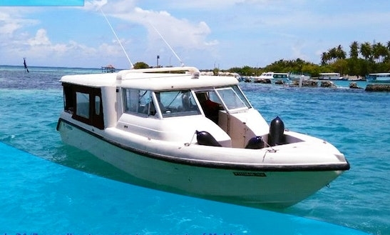Charter A 20 Passenger Bowrider In Malé, Maldives For Your Next Adventure!