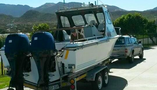Enjoy Fishing In Cape Town, South Africa On Cuddy Cabin
