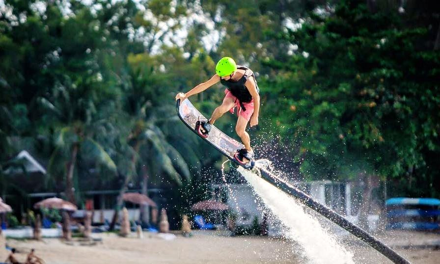 Enjoy Hover Board in Ko Samui, Thailand