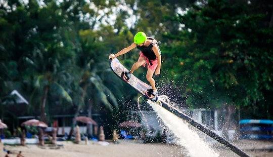 Enjoy Hover Board In Ko Samui, Thailand