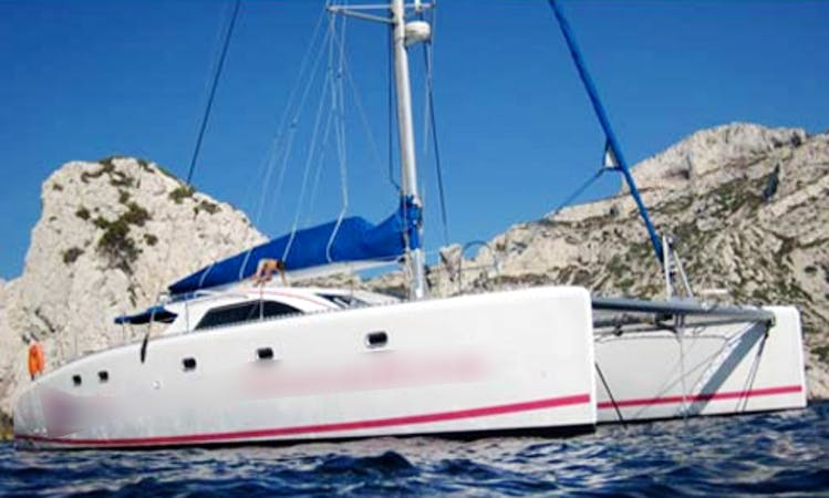 Nautitech 475 Cruising Catamaran Charter in Marseille, France