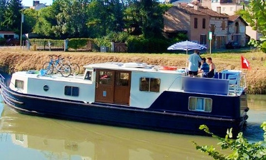 Charter The Euroclassic 129 Barge In Capestang, France