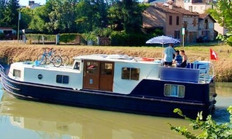 Charter a 42ft EuroClassic Canal Boat in Capestang, France