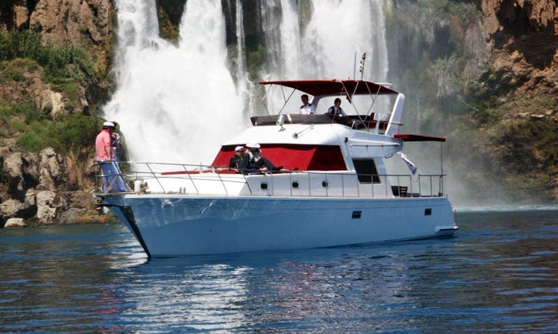 Motor Yacht Charter in Antalya, Turkey for Sightseeing, Dinner Cruise